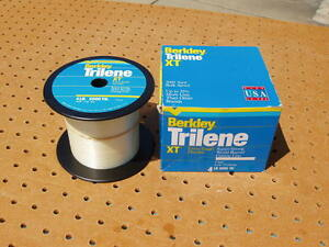 BERKLEY TRILENE XT 4 lb 3000 yds YARDS CLEAR MONOFILAMENT FISHING LINE XT304-15