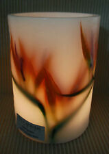 BIRD OF PARADISE-LARGE-REUSABLE WAX CANDLE LANTERN. 100% AUSSIE DESIGN, MADE