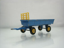 Diecast Lesney Matchbox Hay Trailer No.40 Blue Good Condition