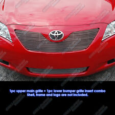 Fits 2007-2009 Toyota Camry LE Billet Grille Combo