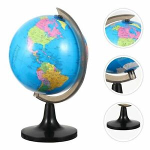 Educational World Globe with Swivel Stand Geography Learning Map