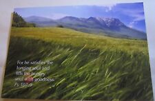 Religion Christianity Psalm 107 Verse 9 - posted 2012