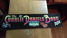 Vintage Unused Charlie Daniels Band Skoal Bumper Sticker EX-MT