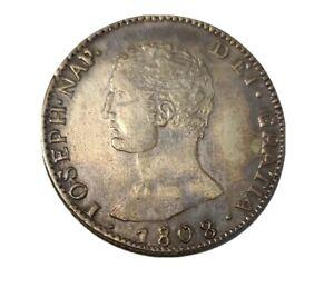 Moneda España 20 Reales 1808 Joseph Napoleon (Reproducción)