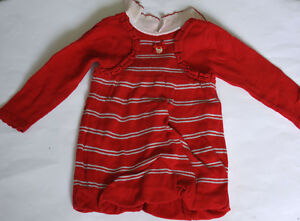Noble Original Baby Autumn Winter Knitted Dress By Mayoral Size 12M 80
