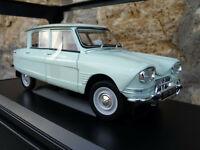 RARE : Citroen Ami 6 - 1963 Blanc Carrare   au 1/18 de NOREV 181532