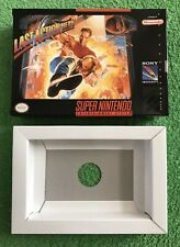 Last Action Hero (Super Nintendo SNES) BOX & TRAY ONLY!  FREE GIFT WITH ORDER!