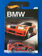 2016 Hot Wheels 100 YEARS OF BMW - 1994 BMW E36 M3 RACE CAR - mint on long card!