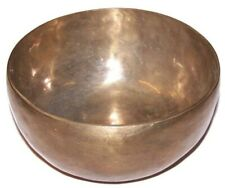 More details for extra large, handmade brass singing bowl 16cm x 8cm