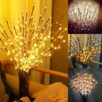 Branch Shaped 20/100 LED Lights Xmas Wedding Party Decor Fairy String Lamps /ZM