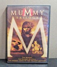 The Mummy Trilogy    (DVD, 3-Disc Set)     LIKE NEW