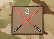 Platatac Crossed Lightsaber Morale Patch Sith 22 SAS Special Air Service UKSF