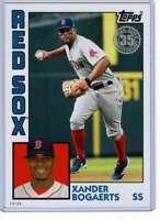 Xander Bogaerts 2019 Topps Update 1984 Topps 5x7 #84-5 /49 Red Sox
