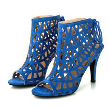 Stiletto Strappy Medium Width (B, M) Synthetic Heels for Women