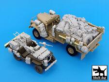 British SAS Jeep & Chevrolet North Africa 1942 ,T35016, BLACK DOG, 1:35