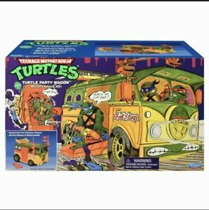 BRAND NEW TMNT Original Party Wagon Playmates 2021 Teenage Mutant Ninja Turtles