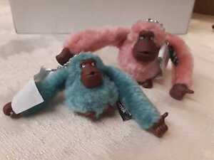 BNWT Set of 2 Kipling Monkey Keyring! ! BARGAIN