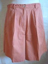 Signature Expressions Women's Classic Walking Shorts Peach Color Size 16 NWOT