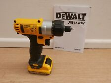 DEWALT XR DCF610 10.8V  SCREWDRIVER BARE UNIT + DCB127 2 AH BATTERY