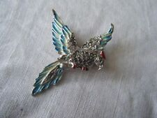 Unbranded Marcasite Enamel Costume Brooches & Pins