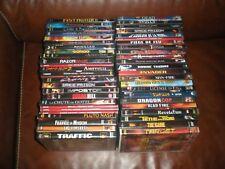 SUPER LOT DE 52 DVD FILMS THRILLERS AVENTURE TERREUR POLICIERS ACTION