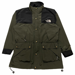Size L - 90s TNF The North Face Mountain Parka Jacket Olive / Black Gore-Tex VTG