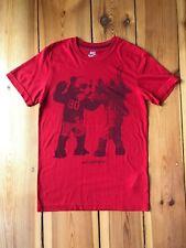 Nike Tshirt Oberteil Gr. S Herren rot Sportswear Slim fit Sport T Shirt chicago