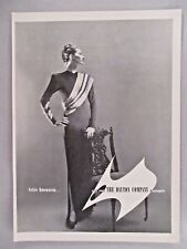 Nettie Rosenstein Dress PRINT AD - 1945 ~~ The Dayton Company, Minneapolis