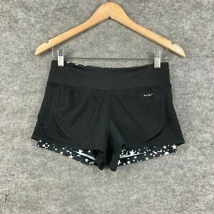 Lorna Jane Womens Shorts Size 2XS Black Lined Stretch Fitted 241.20