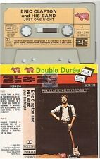 ERIC CLAPTON cassette K7 tape JUST ONE NIGHT france french 3524 214 paper label