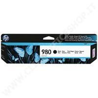 HP 980 (D8J10A)Cartuccia d'inchiostro nero originale 10000 Pagine