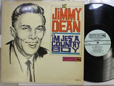 Country Lp Jimmy Dean I'M Jes' A Country Boy On Mvm