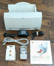 Vintage APPLE Color Style Writer 1500 Printer With Original Ink TURNS ON