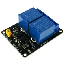 Geekcreit 2 Channel Isolated Relay Module, 5V, SPDT Output, Arduino