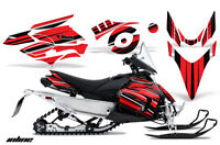Snowmobile Graphics Kit Decal Wrap For Yamaha Phazer RTX GT 2007-2016 INLINE RED
