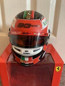 Charles Leclerc 1/2 Scale Ferrari F1 helmet Monza 2019