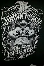 johnny cash t shirt large the man in black