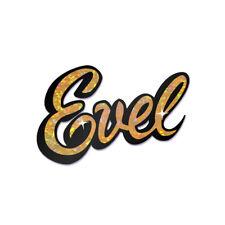 "Evel Knievel Holographic ""Evel"" Bumper Sticker"