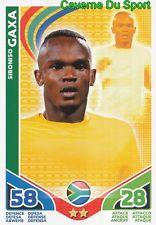 SIBONISO GAXA # SOUTH AFRICA CARD CARTE MATCH ATTAX STARS MONDIALE 2010 TOPPS