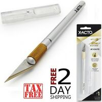 X-ACTO Z Series Aluminum Hobby Exacto Knife #1 Knife For Model Making & sten