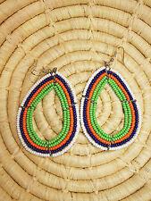 New African Maasai Earrings Masai Massai Africa S/M jemo423