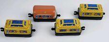 SONIC 2005 - Tin Retro Train -  Lot of 4   ~LOOK~