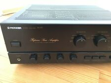 Pioneer a-777 vintage plenamente amplificador. top! Phono input mm/MC