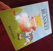 The RED WOOLLEN Blanket – Bob GRAHAM.  HARDcover! HARDcover! Gorgeous!  In Aust!