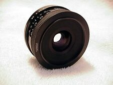 28mm f2,5 Tamron Adptall-2 lens | fast wide angle | tested | nice | clear glass