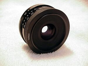28mm f2,5 Tamron Adptall-2 lens | fast wide angle | tested | nice | clear 3399xx