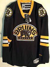 Reebok Premier NHL Jersey Boston Bruins Team Black Alt sz L