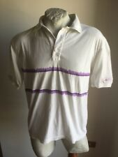 ELLESSE POLO SHIRT TRIKOT JERSEY 100% COTTON VINTAGE 1990 MADE IN ITALY