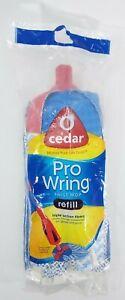 O-Cedar Pro Wring Twist Mop Refill Triple Action Fibers -Fast Shipping-