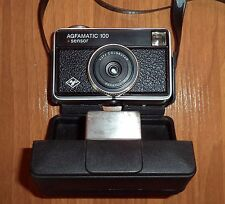 AGFAMATIC 100 sensor. AGFA Colorstar Parator. Vintage Camera + Original case